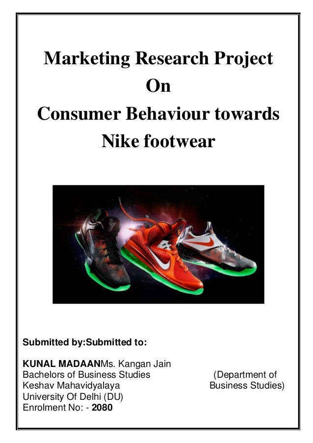 research methodology of nike Apple is the wealthiest corporation in the world, and as such, is almost certainly using every method of market research out there, from purchasing syndicated.
