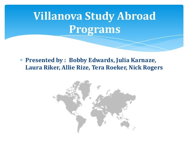 Marketing research study abroad