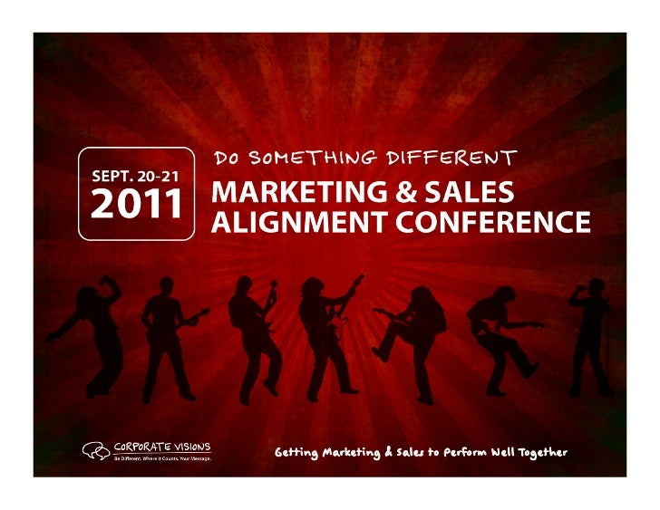 Marketing & Sales Alignment, Erik Peterson, Corporate Visions