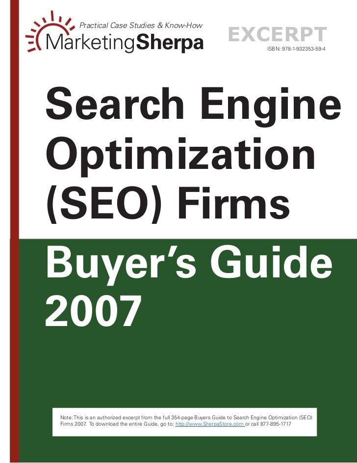 Practical Case Studies & Know-How  MarketingSherpa                                                        excerpt         ...