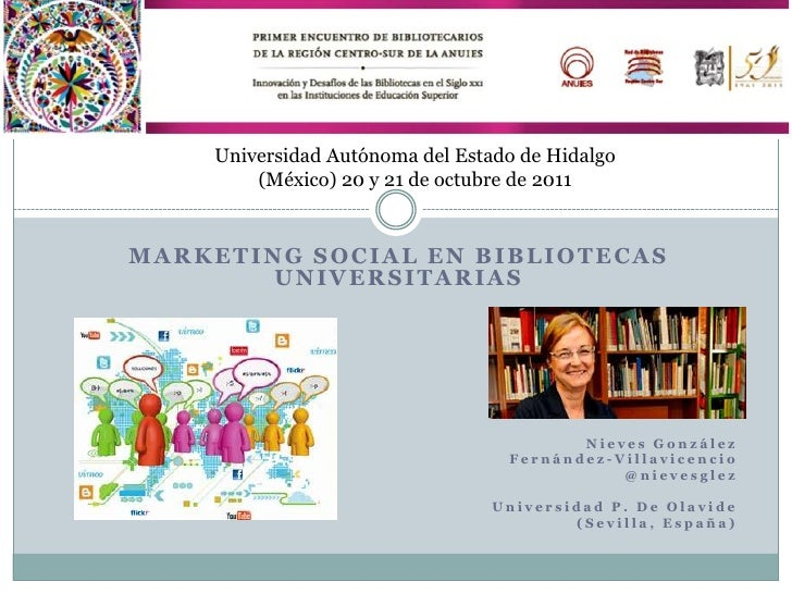 Marketing social en bibliotecas universitarias