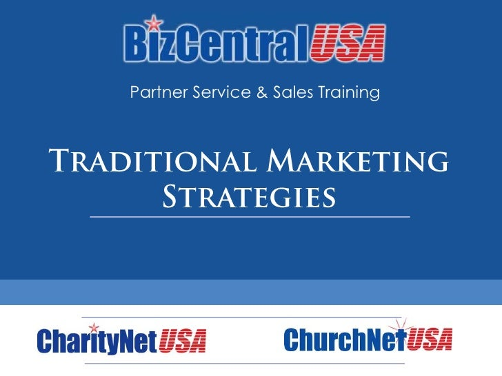 Partner Training: Marketing Strategies