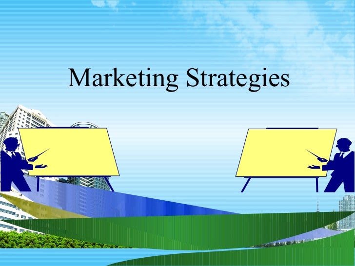 Marketing strategies ppt @ bec doms bagalkot mba
