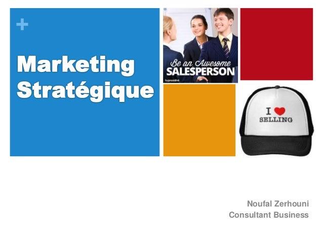 + Noufal Zerhouni Consultant Business