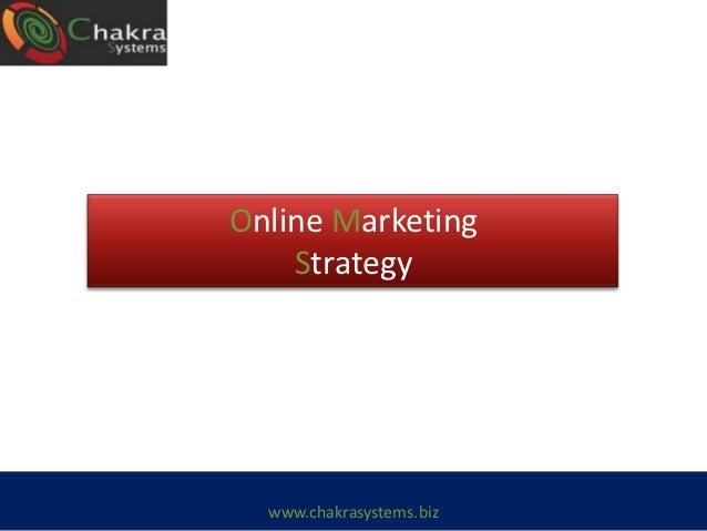 Marketing Strategy - Chakra Systems