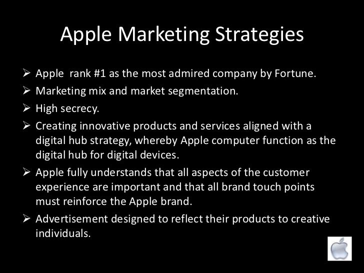 apple strategy analysis Strategic management apple 4831 words | 20 pages apple inc company summary: apple inc is an american multinational electronic company it designs, develops and sells mobile communication and media services, personal computing products, portable digital music players and wide range of software products worldwide.