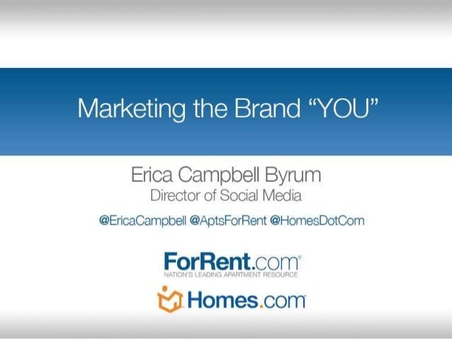 """Marketing the Brand """"YOU"""" - Old Dominion University AMA Marketing Week"""