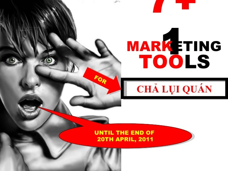 Marketing Tools for Chả Lụi Restaurant