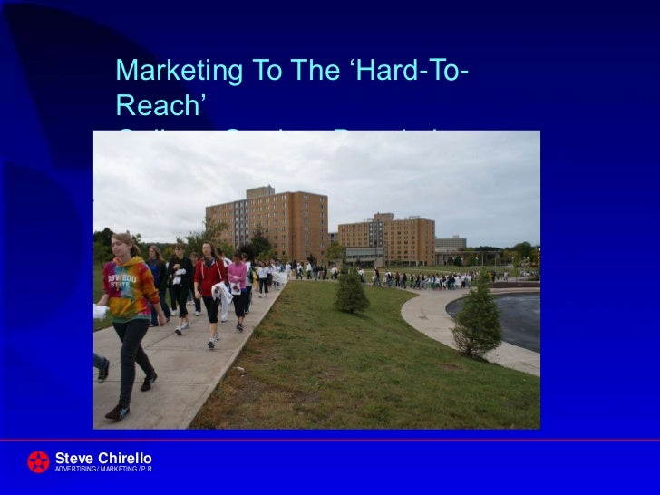 Marketing to Students 2012