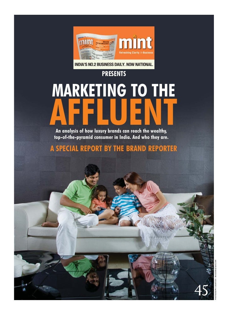 Marketing To The Affluent Hr