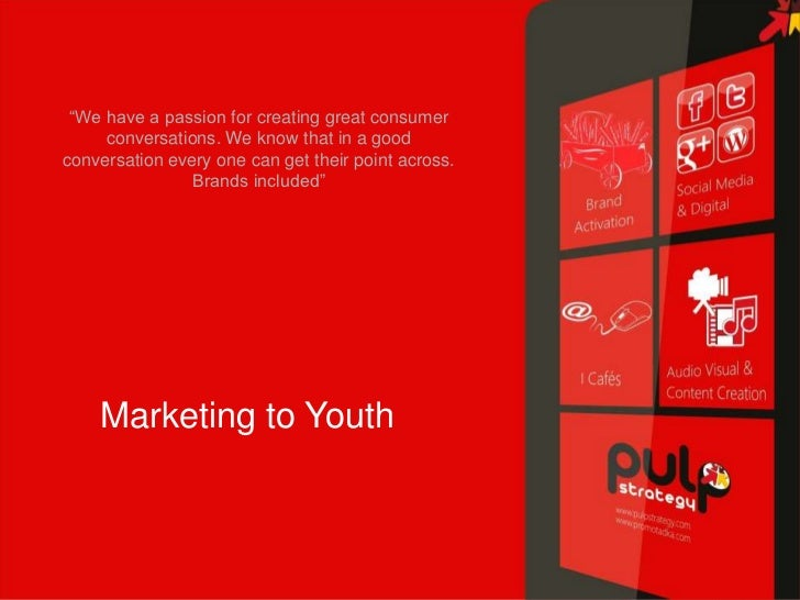 Marketing to youth @ icafes.
