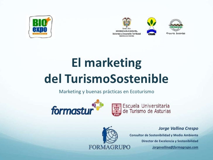 Marketing del turismo sostenible