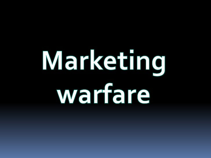 Marketing warfare<br />