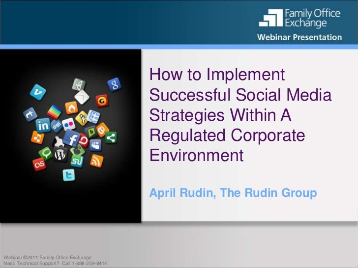 How to Implement                                              Successful Social Media                                     ...