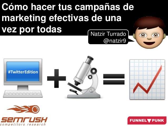 Campañas de Marketing Efectivas