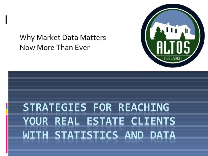 Why Market Data Matters Now More Than Ever