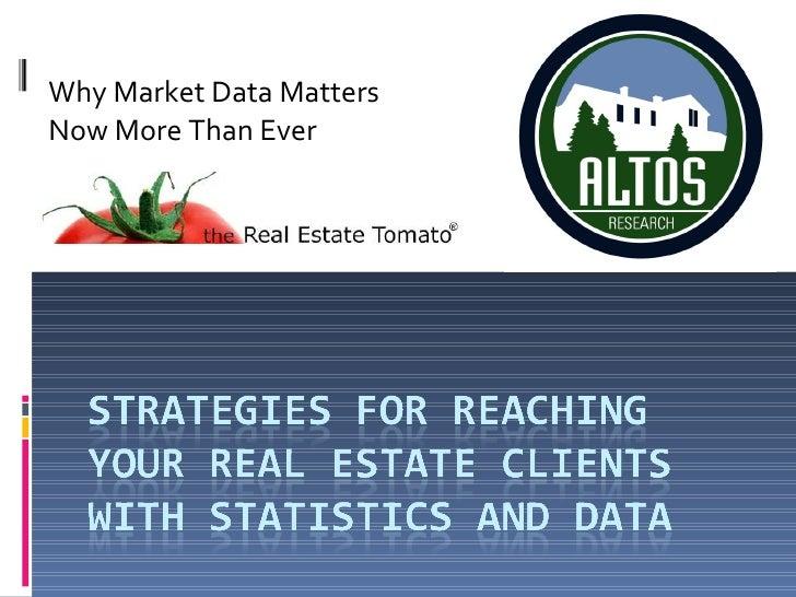 """Real Estate Marketing With Statistics"" Webinar   Re Tomato"
