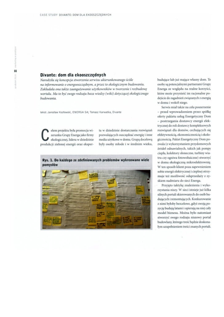 Case study - spolecznosc dla ENERGA SA - Ekooszczedni