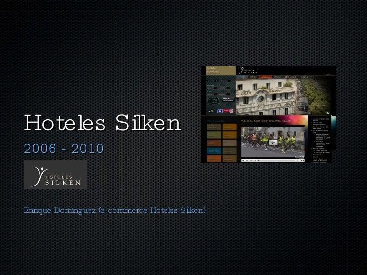 Marketing y comercializacion turistica en hoteles. enrique domínguez