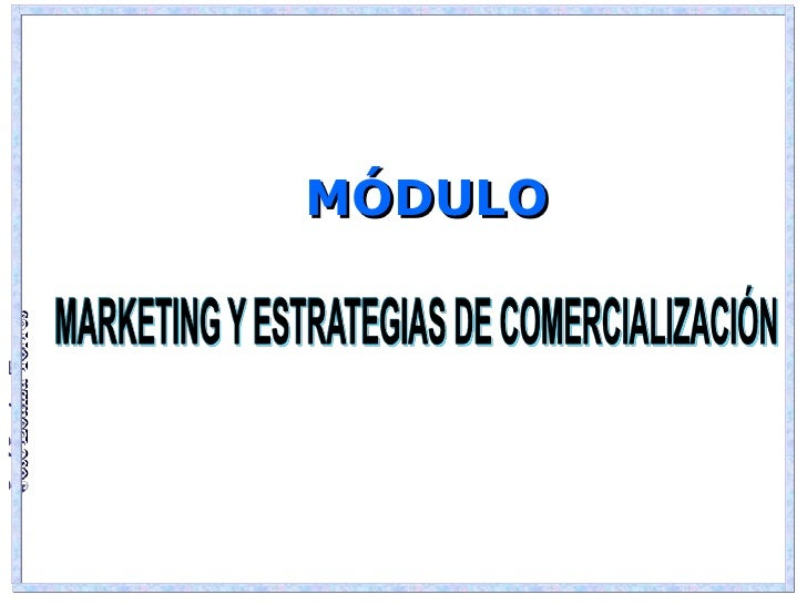 Marketing y estrategias 2012