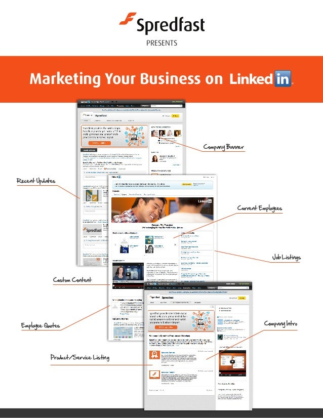 Marketing your business on linked in