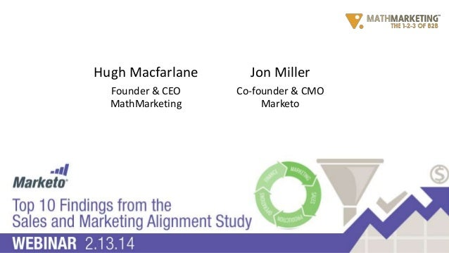 Top 10 Findings from the Sales and Marketing Alignment Study