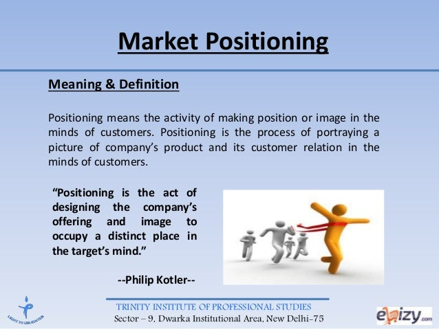 product positioning in the market