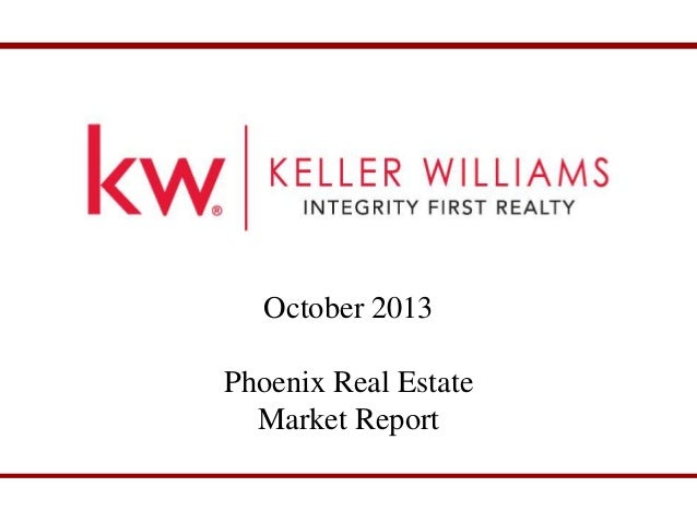 Phoenix and East Valley Real Estate Market Report for October