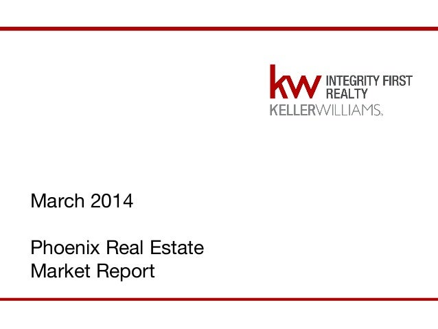 March Phoenix East Valley Real Estate Market report