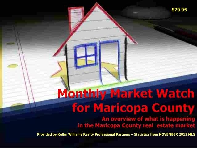 Phoenix Market Overview - November 2012