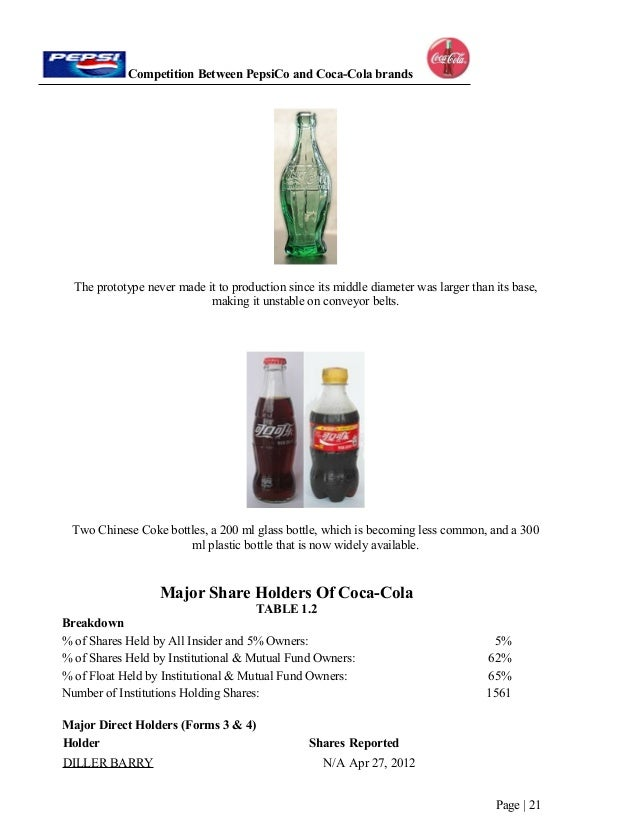 coca cola company essay example This free business essay on the coca-cola company is perfect for business students to use as an example.