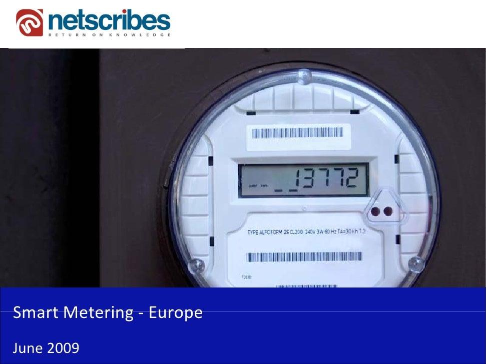 SmartMetering‐Smart Metering EuropeJune2009