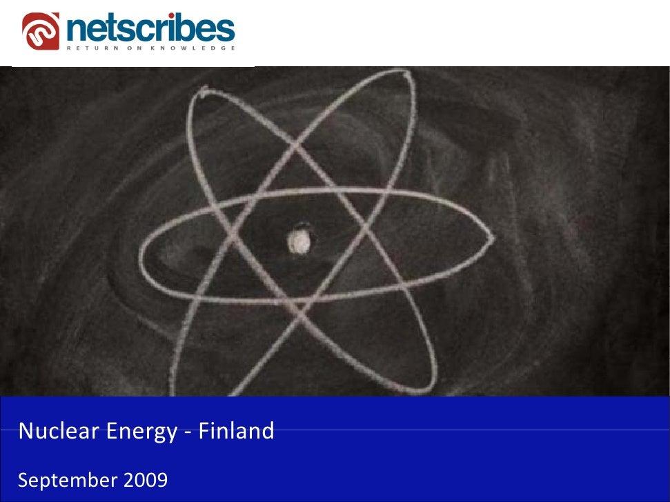 NuclearEnergy‐Nuclear Energy FinlandSeptember2009