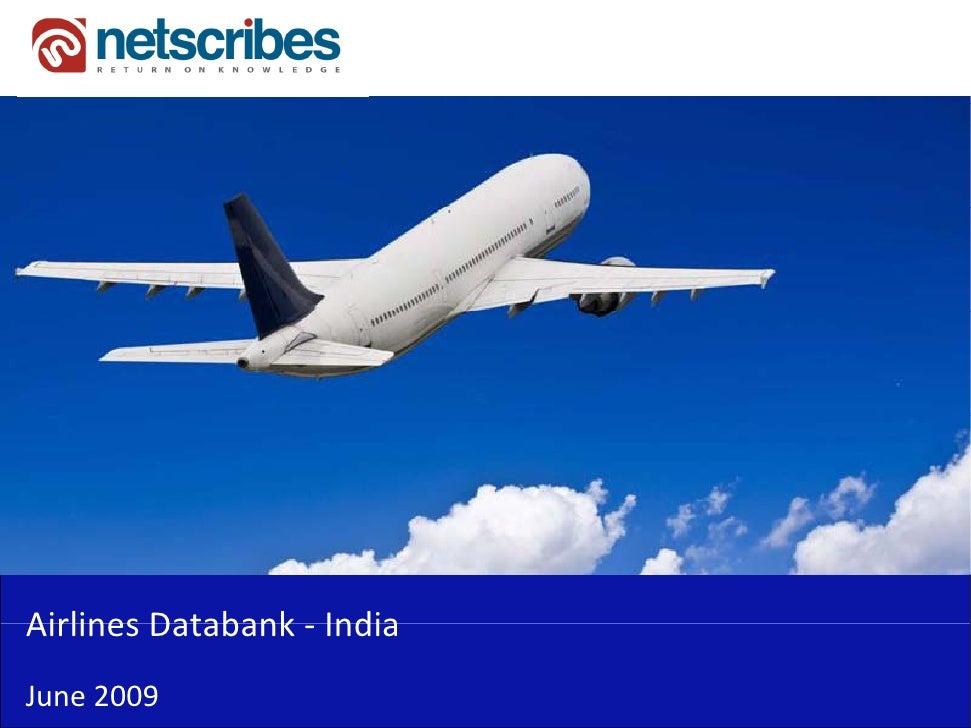 AirlinesDatabank‐Airlines Databank IndiaJune2009