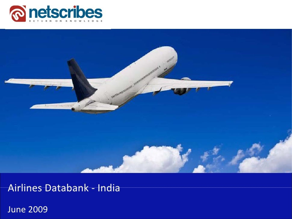 Market Research India - Airlines Databank for India 2009