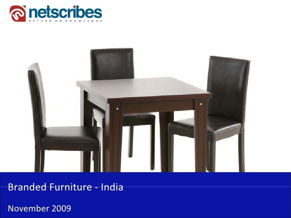 BrandedFurniture‐Branded Furniture IndiaNovember2009