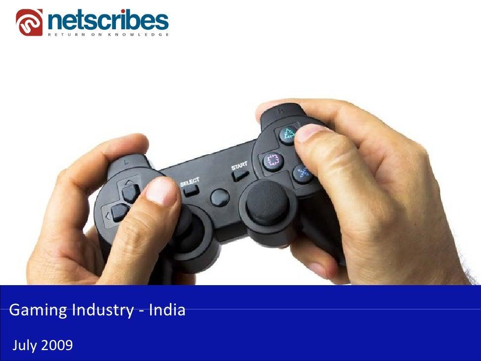 GamingIndustry‐Gaming Industry IndiaJuly2009