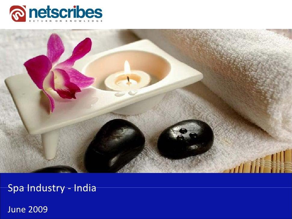 SpaIndustry‐Spa Industry IndiaJune2009
