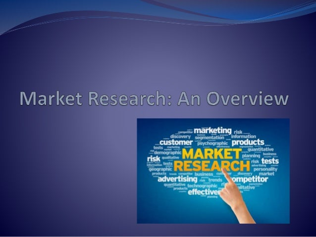 market research introduction The process of gathering, analyzing and interpreting information about a market, about a product or service to be offered for sale in that market, and about the past, present and potential customers for the product or service research into the characteristics, spending habits, location and needs of your business's target market, the industry.