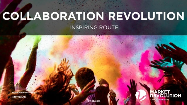 Inspiring route - Collaboration revolution: crowdsourcing, customization & co-creation