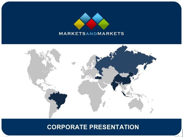 Marketsand Markets Corporate Presentation