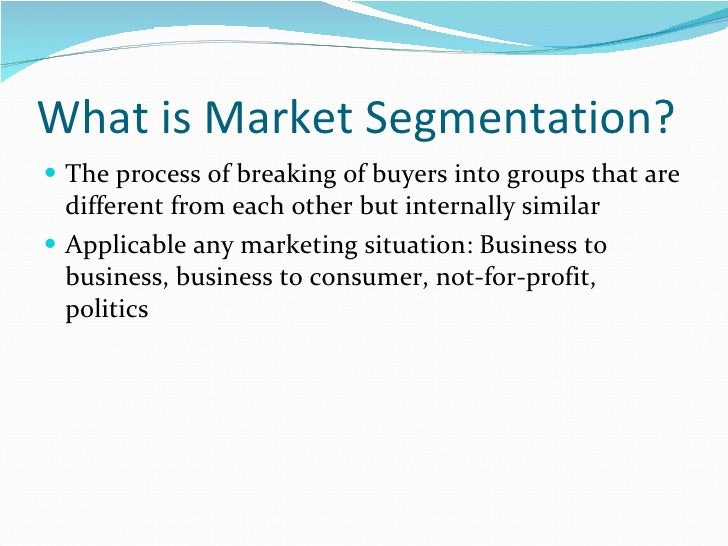 marriotts market segmentation and market research essay Marketing segmentation essay as a health insurance provider our market segmentation is based on research and academic literature.