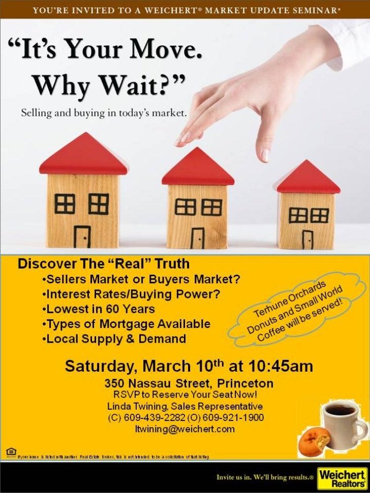 Market Seminar Invite
