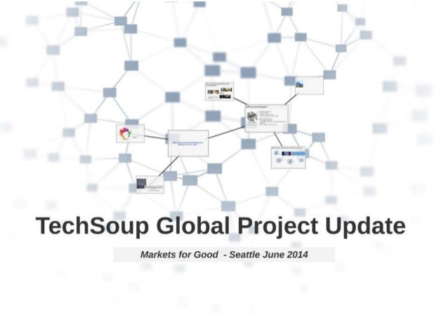 Markets for Good Project Update from TechSoup Global