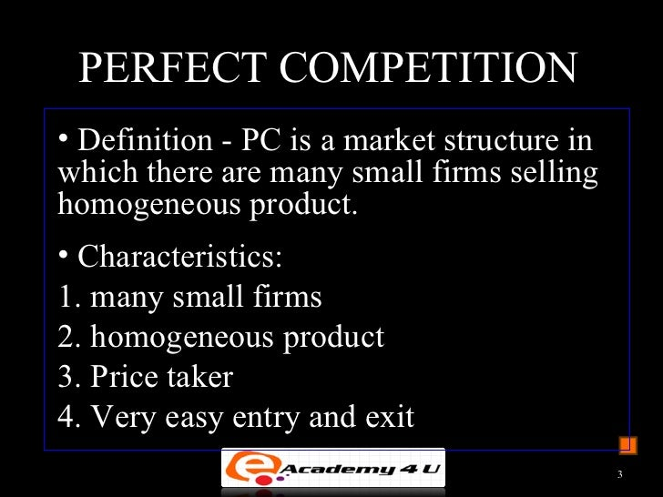 market structure essay Free essay: a competitive market is one that allows easy entry and exit: a market in which companies are generally free to enter or to leave at will this.