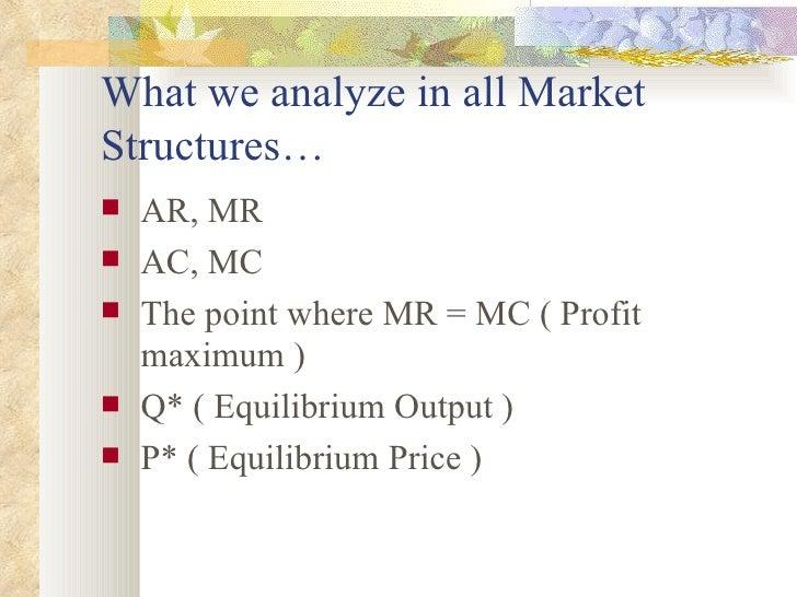 differentiating between market structures 2 essay