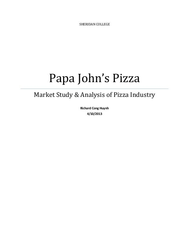The 2016 Pizza Power Report: A state-of-the-industry analysis