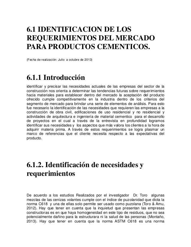Market study for feaseability (spanish)