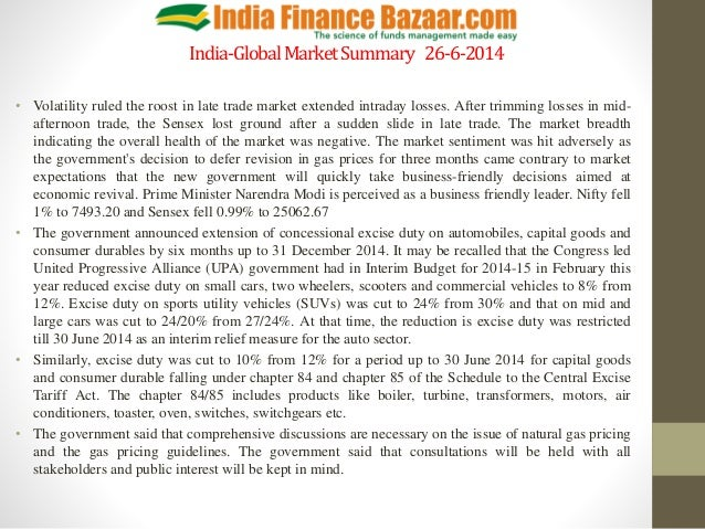 Market summary pptx  26.6.2014