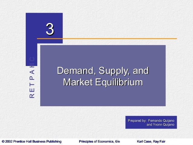 RET PA HC   3                                    Demand, Supply, and                                     Market Equilibriu...